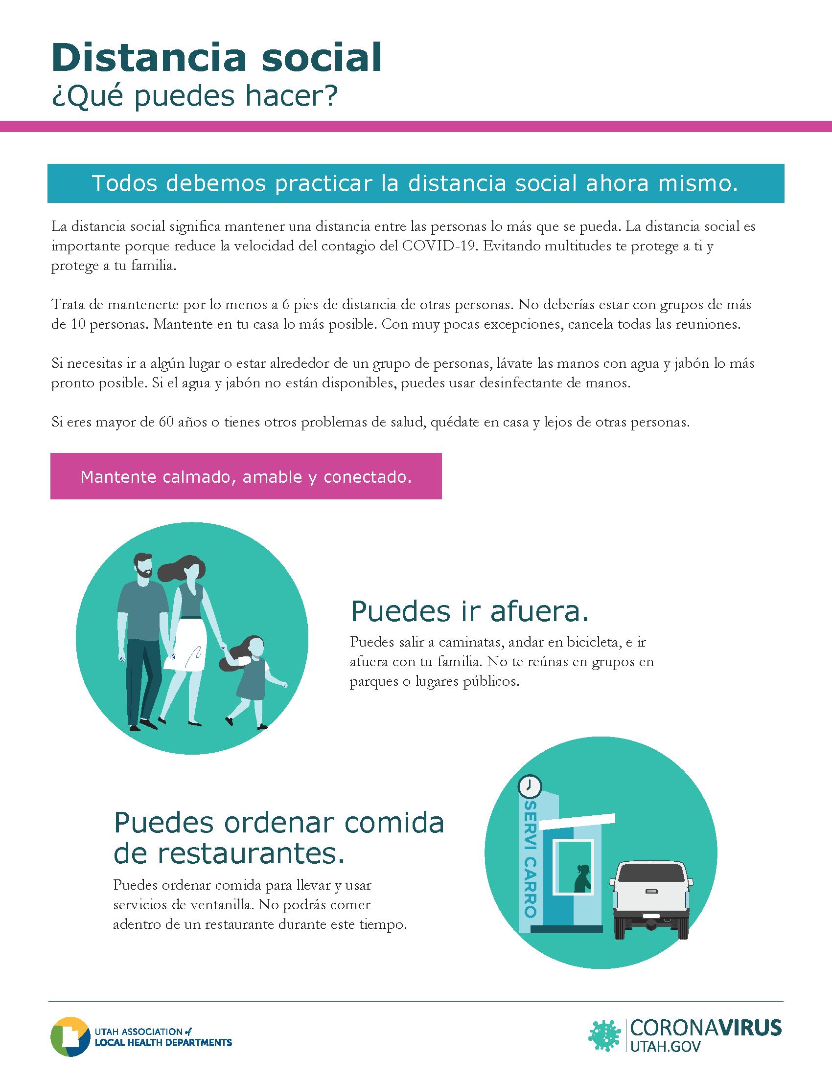 Spanish Social Distancing