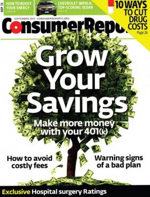 Consumer Reports cover image