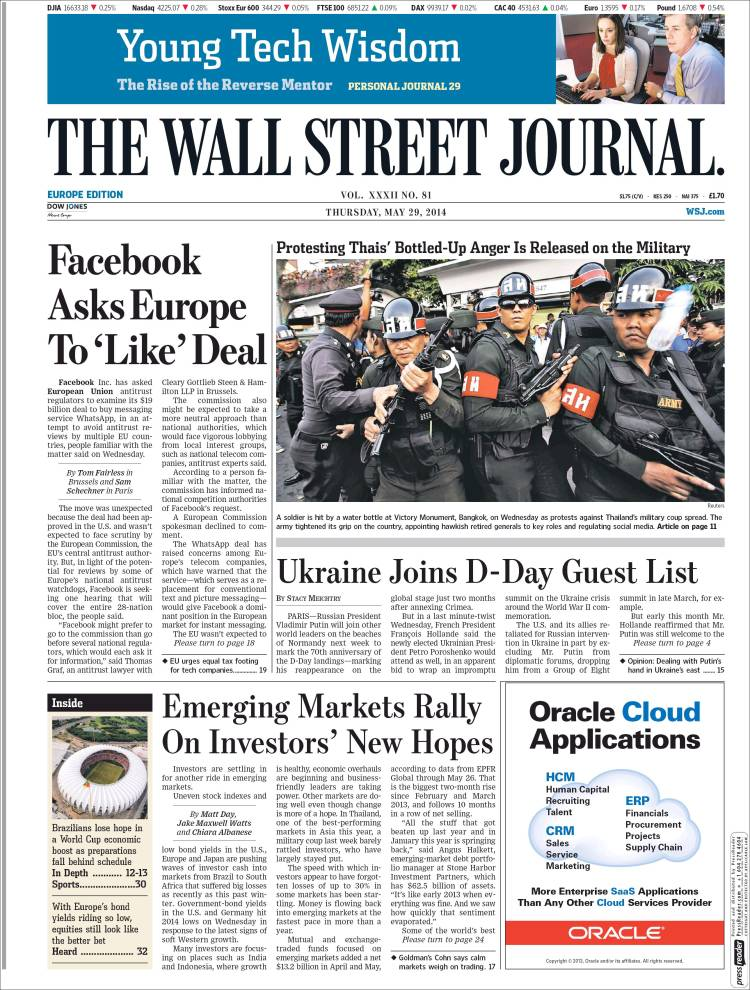 Wall Street Journal cover image