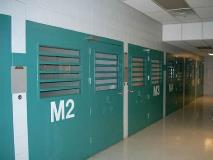 Inmates with medical issues or infectious diseases are housed separately in the medical housing unit.