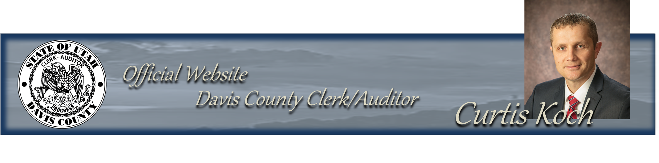 Official Website Davis County Clerk/Auditor Curtis Koch